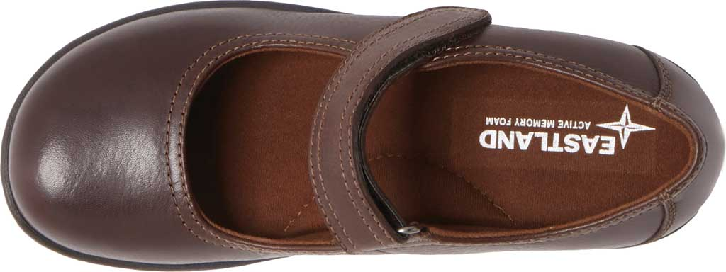 Women's Eastland Gloria Mary Jane, Brown Leather, large, image 5
