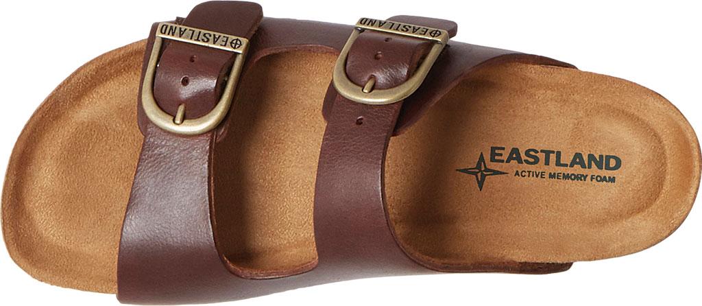 Women's Eastland Cambridge Double Strap Slide, Walnut Leather, large, image 5