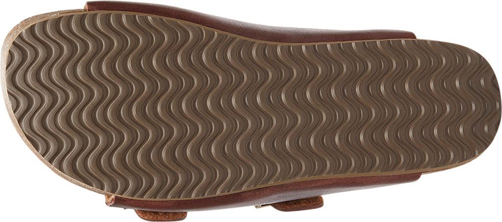 Women's Eastland Cambridge Double Strap Slide, Walnut Leather, large, image 6