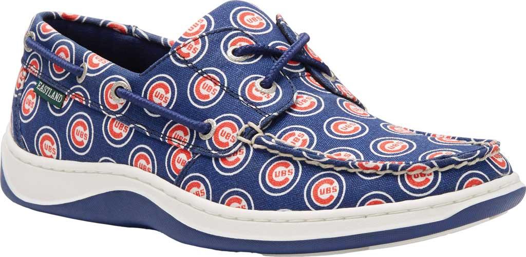 Men's Eastland Summer MLB Canvas Boat Shoe, Chicago Cubs, large, image 1