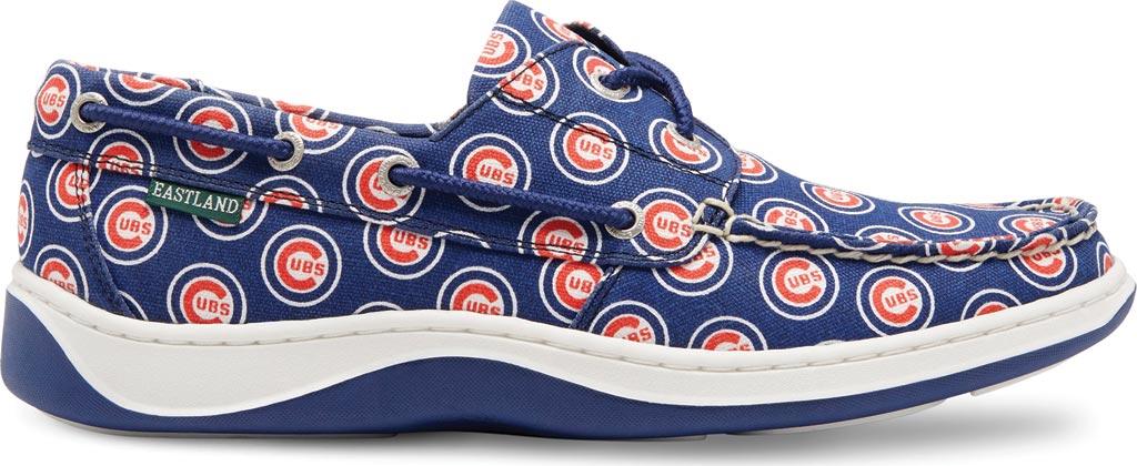 Men's Eastland Summer MLB Canvas Boat Shoe, Chicago Cubs, large, image 2