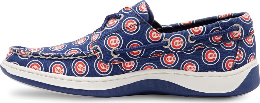 Men's Eastland Summer MLB Canvas Boat Shoe, Chicago Cubs, large, image 3