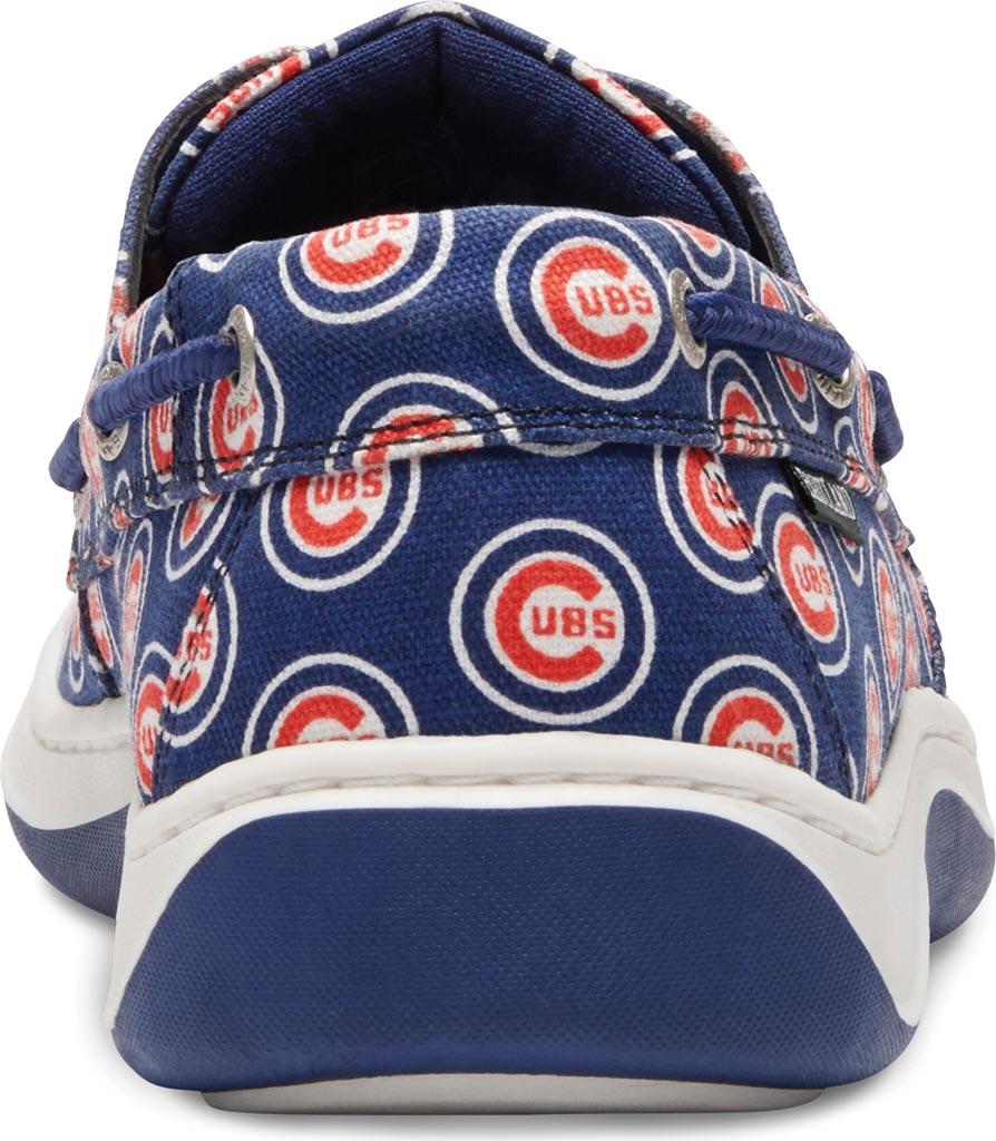 Men's Eastland Summer MLB Canvas Boat Shoe, Chicago Cubs, large, image 4