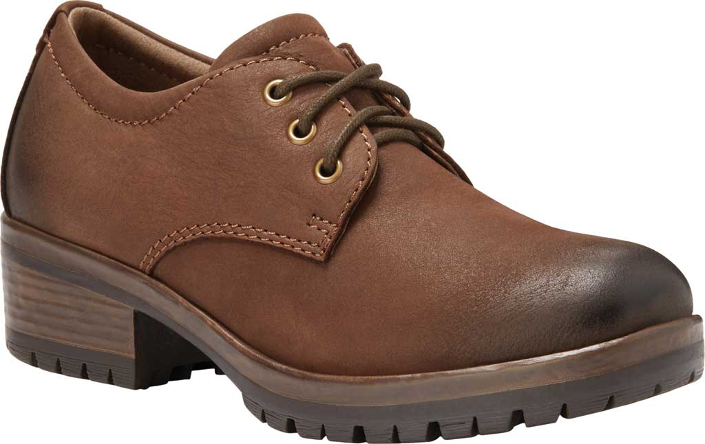 Women's Eastland Ruth Oxford, Brown Full Grain Leather, large, image 1