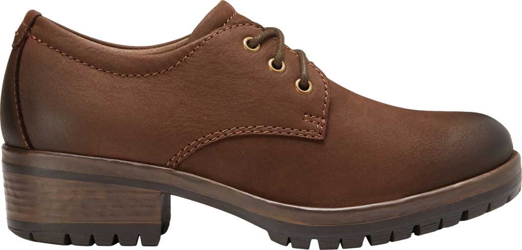Women's Eastland Ruth Oxford, Brown Full Grain Leather, large, image 2