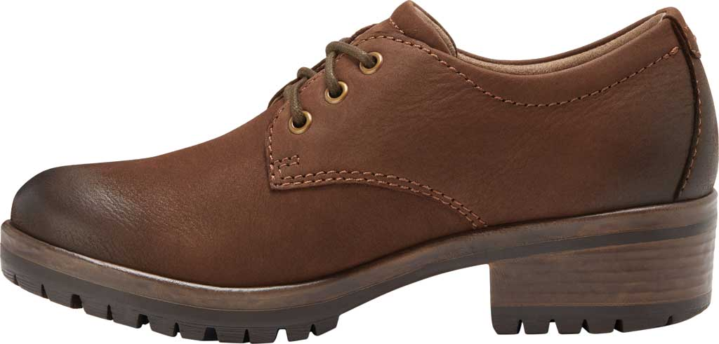 Women's Eastland Ruth Oxford, Brown Full Grain Leather, large, image 3