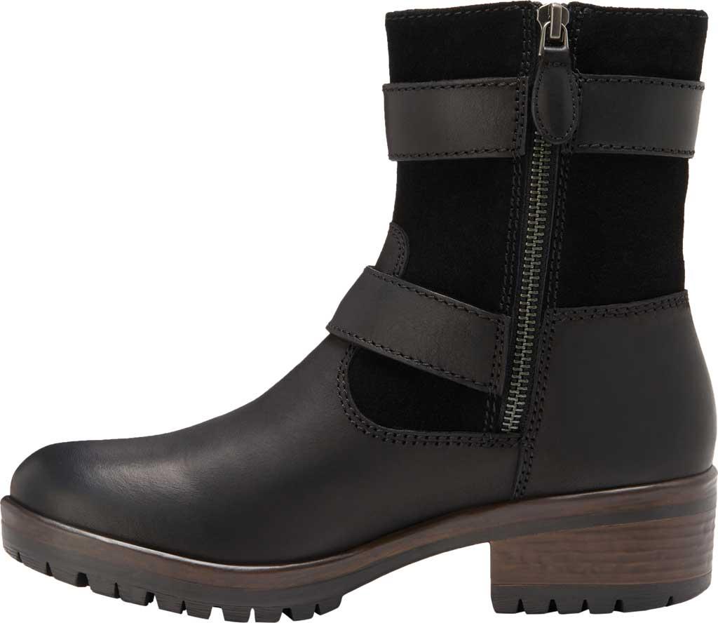 Women's Eastland Gracie Ankle Bootie, Black Full Grain Leather/Nubuck, large, image 3