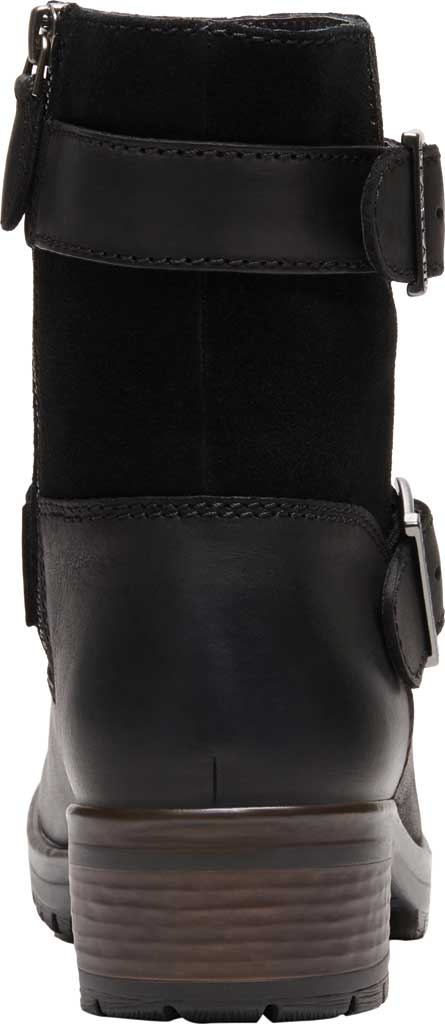 Women's Eastland Gracie Ankle Bootie, Black Full Grain Leather/Nubuck, large, image 4