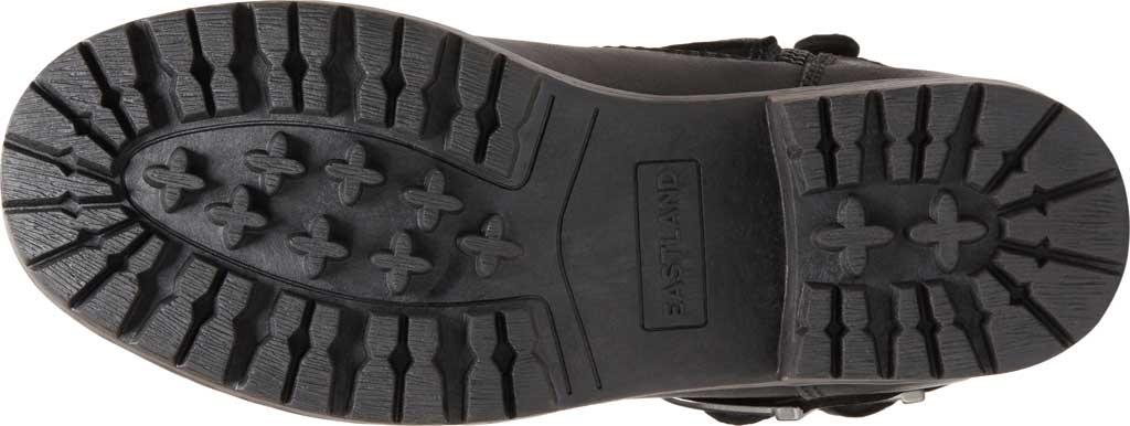 Women's Eastland Gracie Ankle Bootie, Black Full Grain Leather/Nubuck, large, image 6