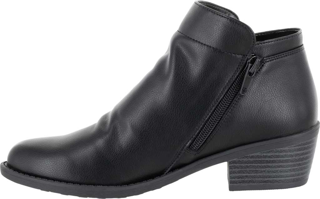 Women's Easy Street Gusto Bootie, Black Synthetic, large, image 3