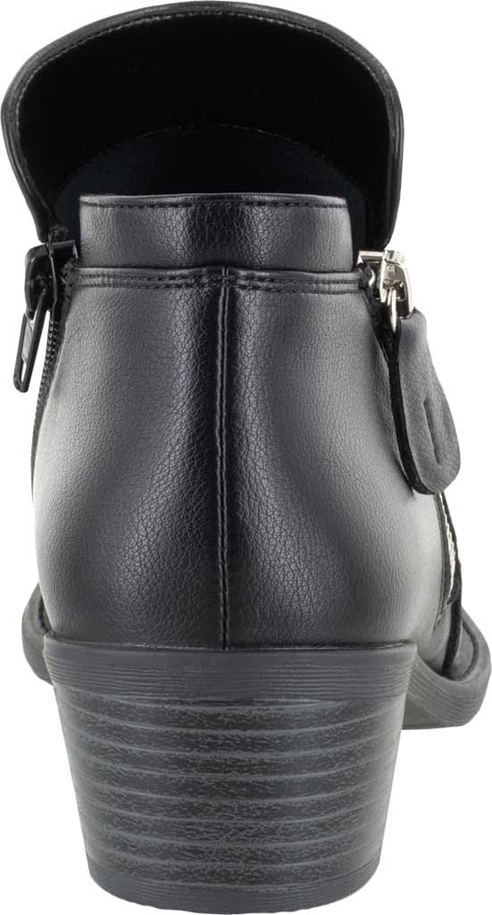 Women's Easy Street Gusto Bootie, Black Synthetic, large, image 4