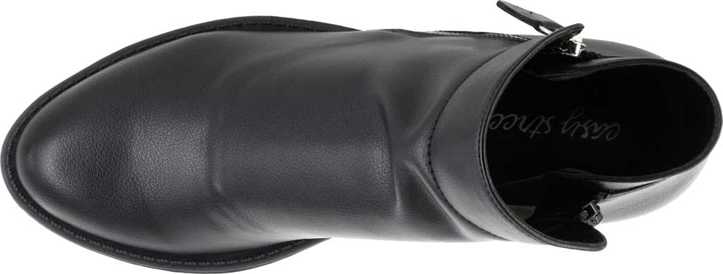 Women's Easy Street Gusto Bootie, Black Synthetic, large, image 5