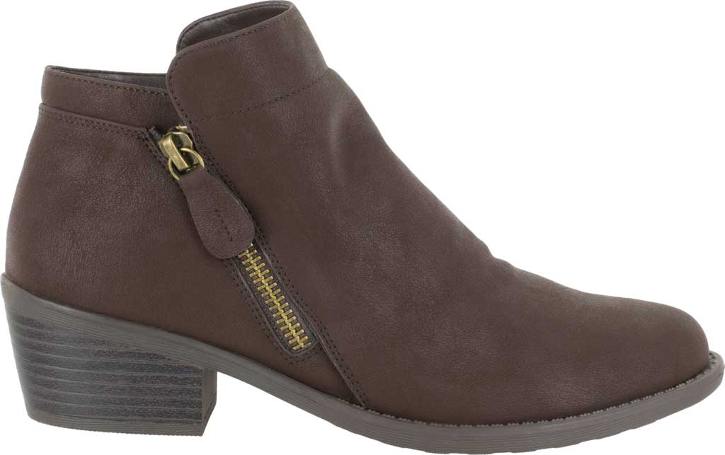 Women's Easy Street Gusto Bootie, Brown Matte Synthetic, large, image 2