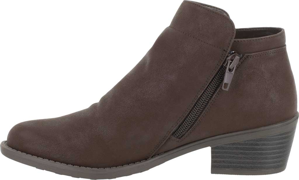 Women's Easy Street Gusto Bootie, Brown Matte Synthetic, large, image 3