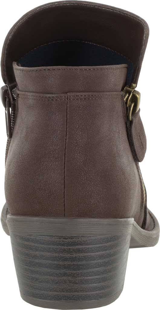 Women's Easy Street Gusto Bootie, Brown Matte Synthetic, large, image 4