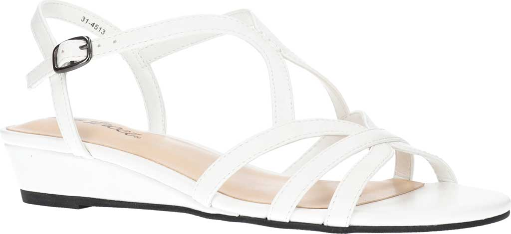 Women's Easy Street Royalty Wedge Strappy Sandal, , large, image 1