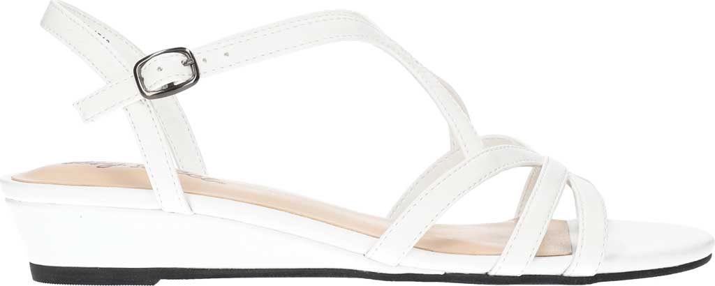Women's Easy Street Royalty Wedge Strappy Sandal, , large, image 2