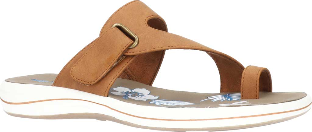 Women's Easy Street Aiko Adjustable Toe Loop Sandal, , large, image 1