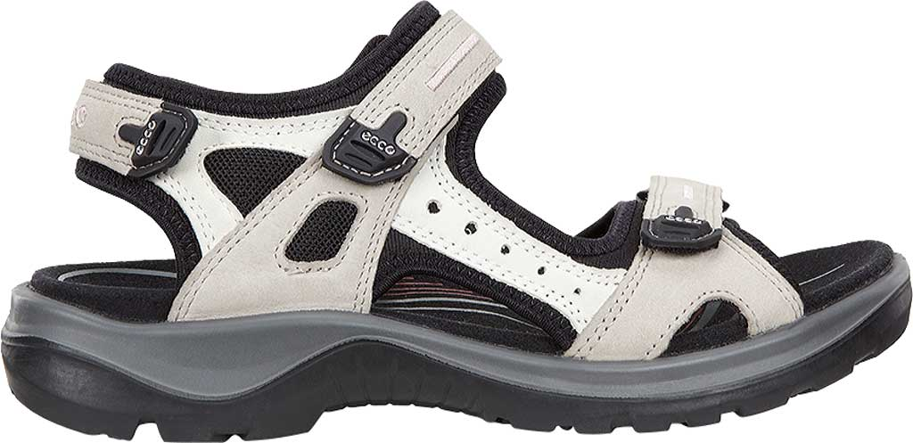 Women's ECCO Yucan, Atmosphere/Ice White/Black, large, image 2