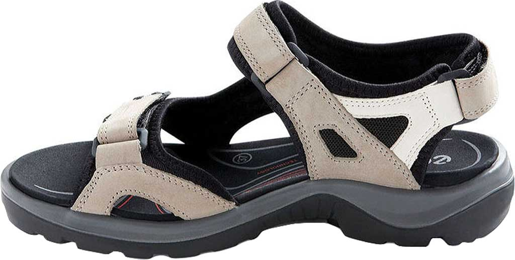Women's ECCO Yucan, Atmosphere/Ice White/Black, large, image 3