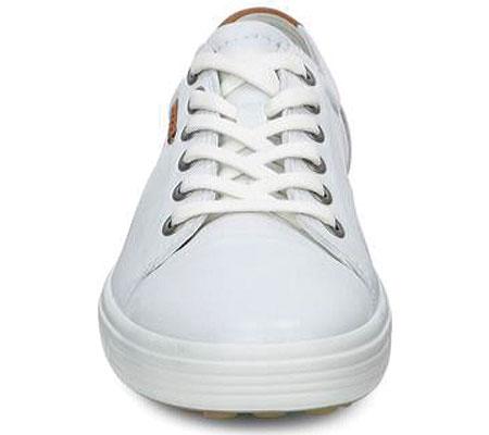 Women's ECCO Soft 7 Sneaker, White Leather/Nubuck, large, image 4