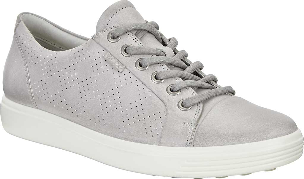 Women's ECCO Soft 7 Sneaker, Wild Dove Cow Leather, large, image 1