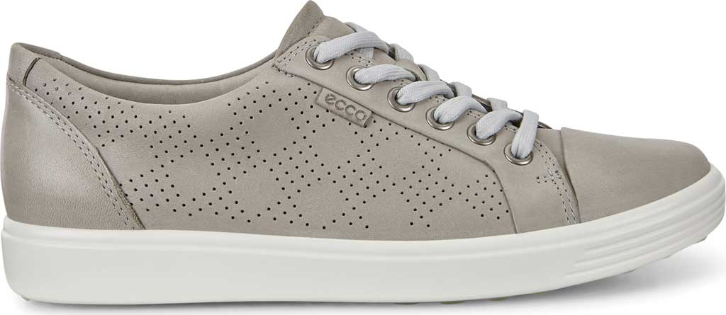 Women's ECCO Soft 7 Sneaker, Wild Dove Cow Leather, large, image 2
