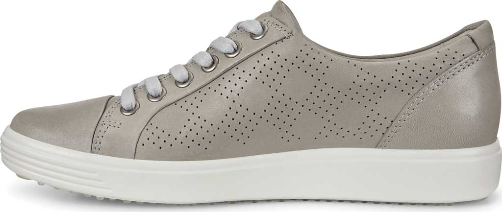 Women's ECCO Soft 7 Sneaker, Wild Dove Cow Leather, large, image 3