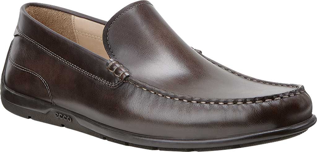 Men's ECCO Classic Moc 2.0 Loafer, Coffee, large, image 1