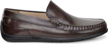 Men's ECCO Classic Moc 2.0 Loafer, Coffee, large, image 2