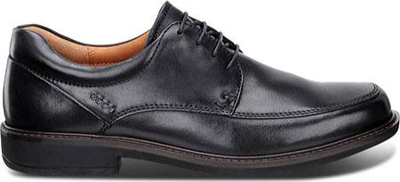 Men's ECCO Holton Apron Toe Tie, Black Leather, large, image 2