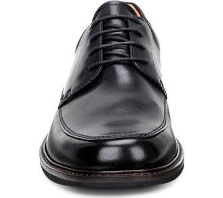 Men's ECCO Holton Apron Toe Tie, Black Leather, large, image 4