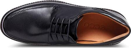 Men's ECCO Holton Apron Toe Tie, Black Leather, large, image 6