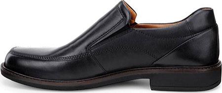 Men's ECCO Holton Apron Toe Slip On, Black Leather, large, image 3