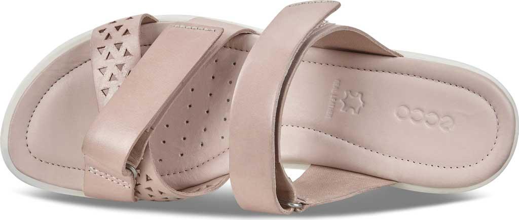 Women's ECCO Felicia Slide, Rose Dust Leather, large, image 5