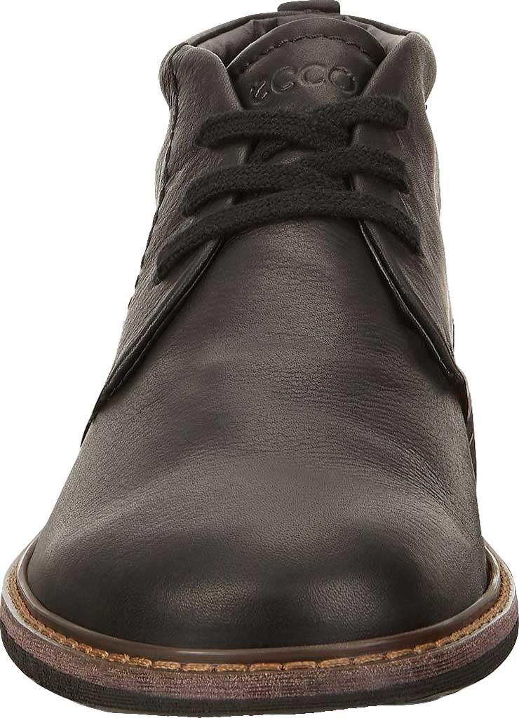 Men's ECCO Turn GORE-TEX Chukka Tie Boot, Black Cow Oil Nubuck, large, image 4