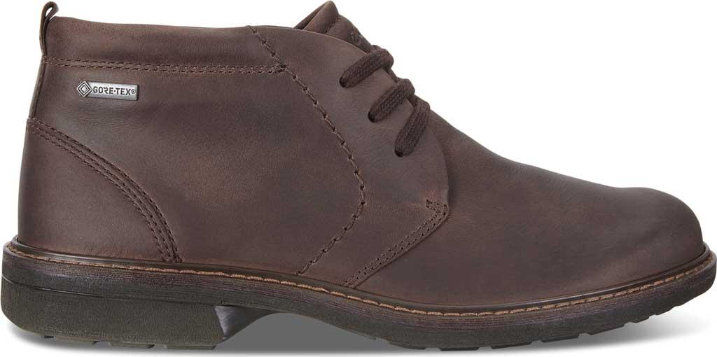 Men's ECCO Turn GORE-TEX Chukka Tie Boot, Cocoa Brown Cow Oil Nubuck, large, image 2