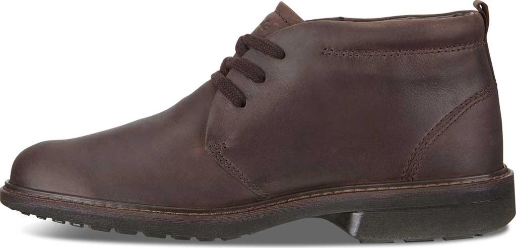 Men's ECCO Turn GORE-TEX Chukka Tie Boot, Cocoa Brown Cow Oil Nubuck, large, image 3