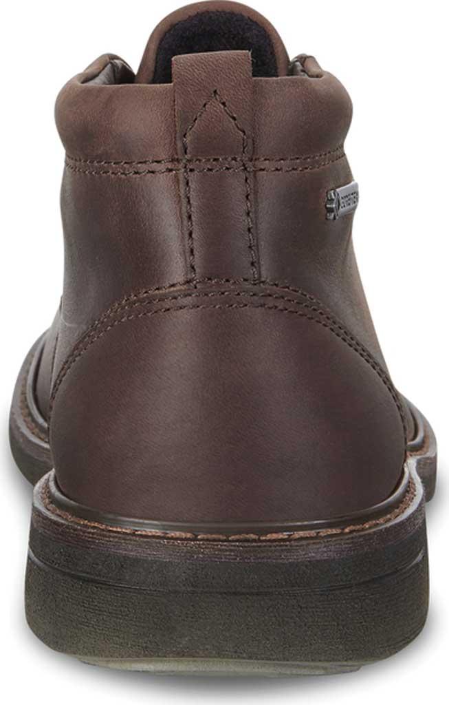 Men's ECCO Turn GORE-TEX Chukka Tie Boot, Cocoa Brown Cow Oil Nubuck, large, image 4