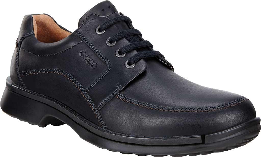 Men's ECCO Fusion II Tie Moc Toe Shoe, Black Cow Leather, large, image 1