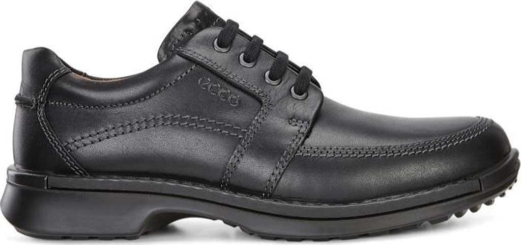 Men's ECCO Fusion II Tie Moc Toe Shoe, Black Cow Leather, large, image 2