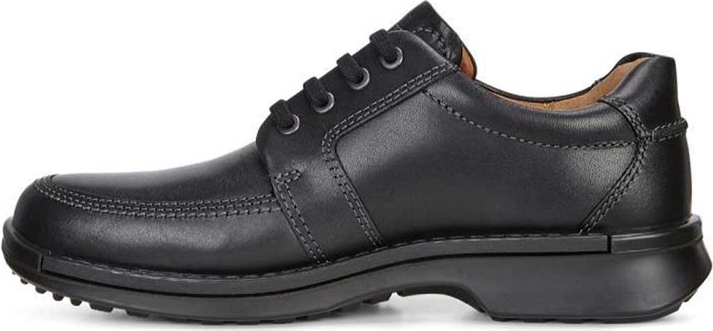 Men's ECCO Fusion II Tie Moc Toe Shoe, Black Cow Leather, large, image 3