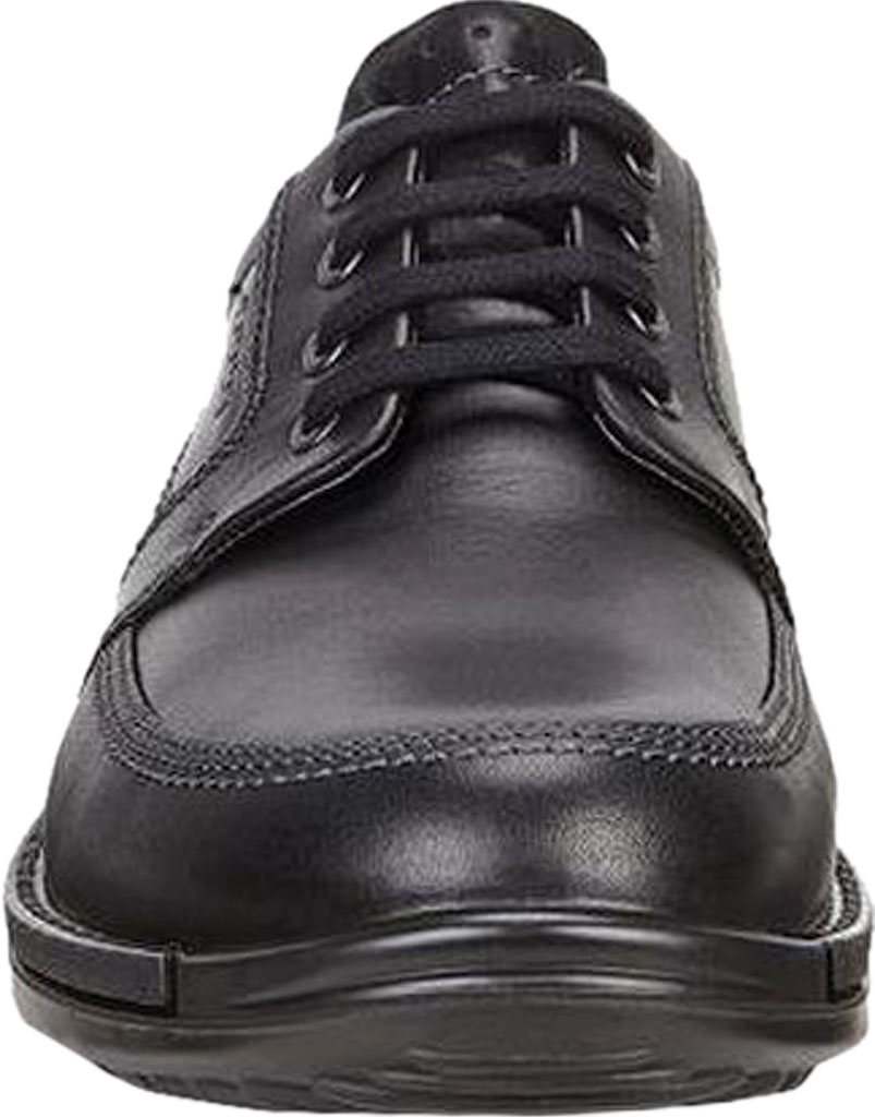 Men's ECCO Fusion II Tie Moc Toe Shoe, Black Cow Leather, large, image 4