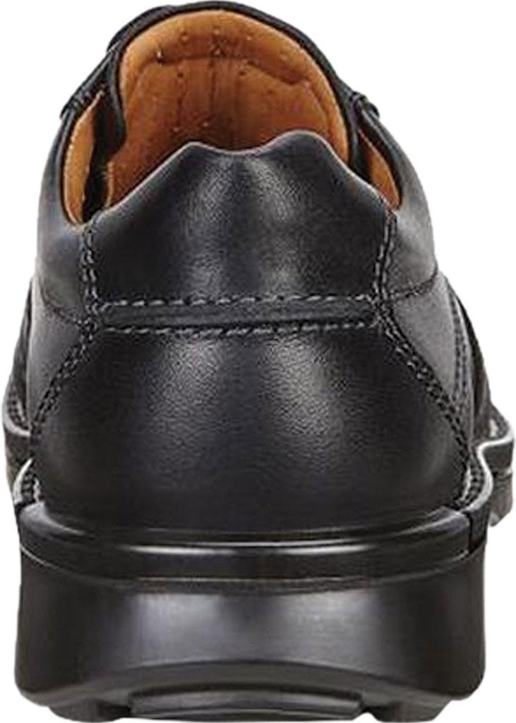 Men's ECCO Fusion II Tie Moc Toe Shoe, Black Cow Leather, large, image 5