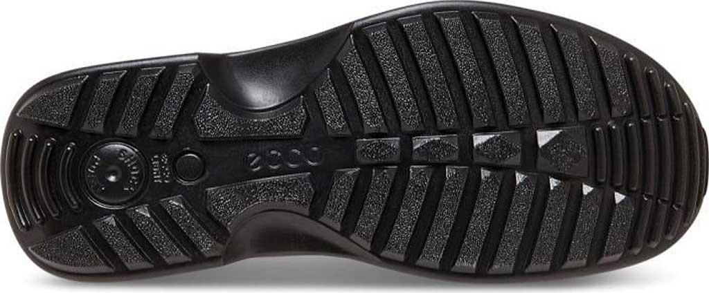Men's ECCO Fusion II Tie Moc Toe Shoe, Black Cow Leather, large, image 7