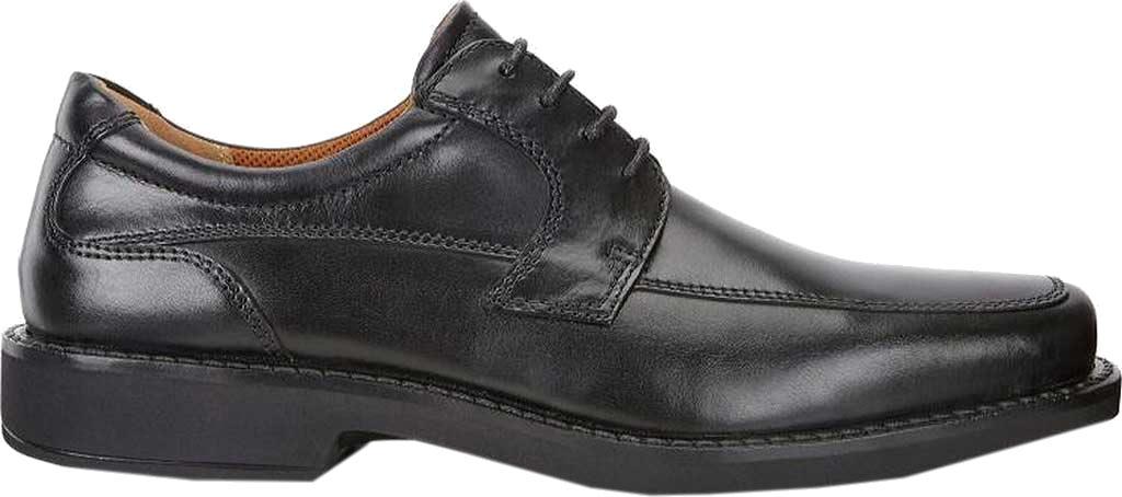 Men's ECCO Seattle Apron Toe Derby, Black Leather, large, image 2