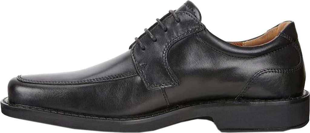 Men's ECCO Seattle Apron Toe Derby, Black Leather, large, image 3