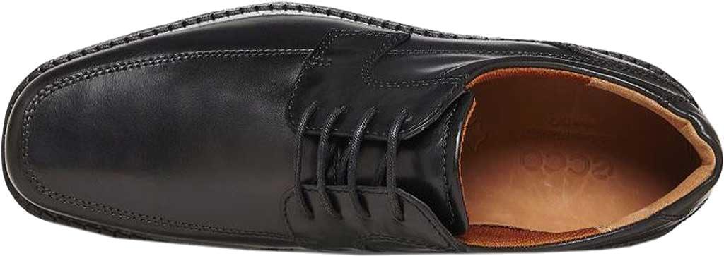 Men's ECCO Seattle Apron Toe Derby, Black Leather, large, image 6