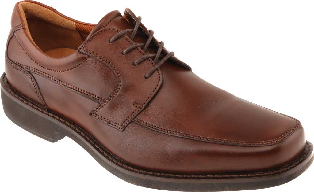 Men's ECCO Seattle Apron Toe Derby, Cognac Leather, large, image 1