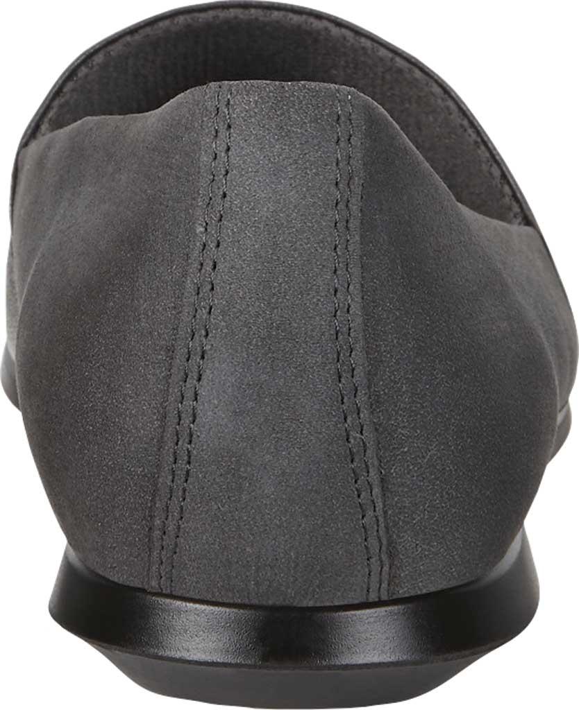 Women's ECCO Touch Ballerina 2.0 Flat, Stone Metallic/Warm Grey Leather, large, image 4